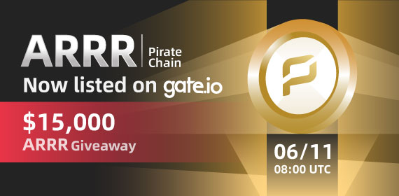 Gate.io Listing Vote #148 Pirate Chain (ARRR) Voting Result & Listing