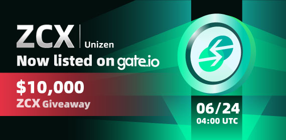 Gate.io Listing Vote #155 Unizen (ZCX) Voting Result & Listing