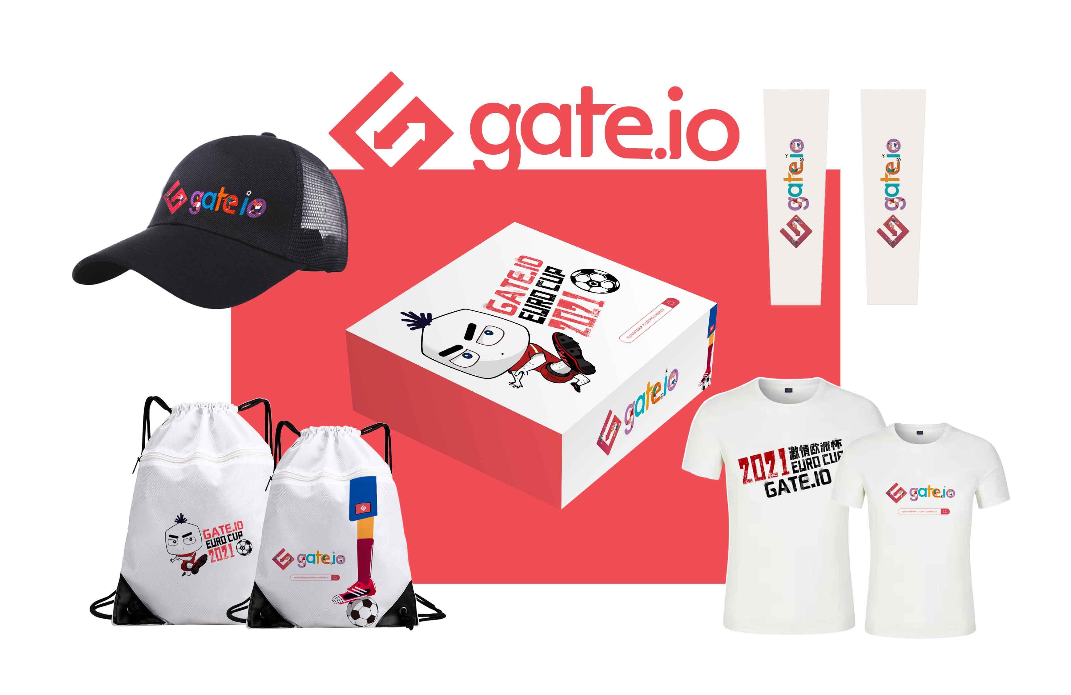 Gate.io NFT魔盒「魔力欧洲杯2021」返场来袭,2美金抢限量周边