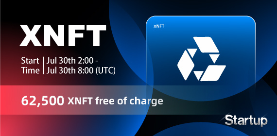 Gate.io Initial Startup Free Offering: xNFT Protocol(XNFT) and Announcement of Free Distribution Rules (62,500 XNFT free of charge)