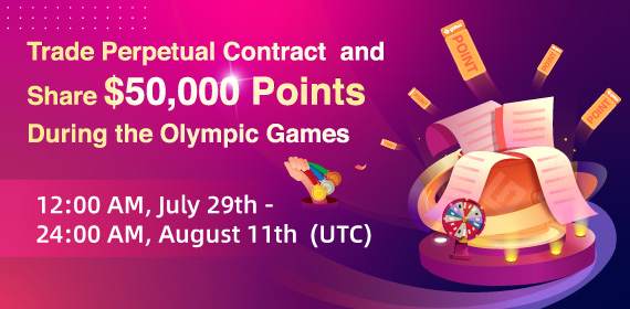 Gate.io Perpetual Contract Trading Competition, Total Prize Pool Of $50K To Be Won During the Olympic Games