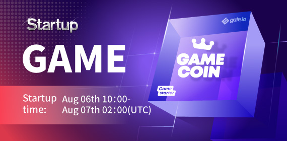 Gate.io Startup Initial Offering-DAO SHO Project- Gamestarter _GAME_