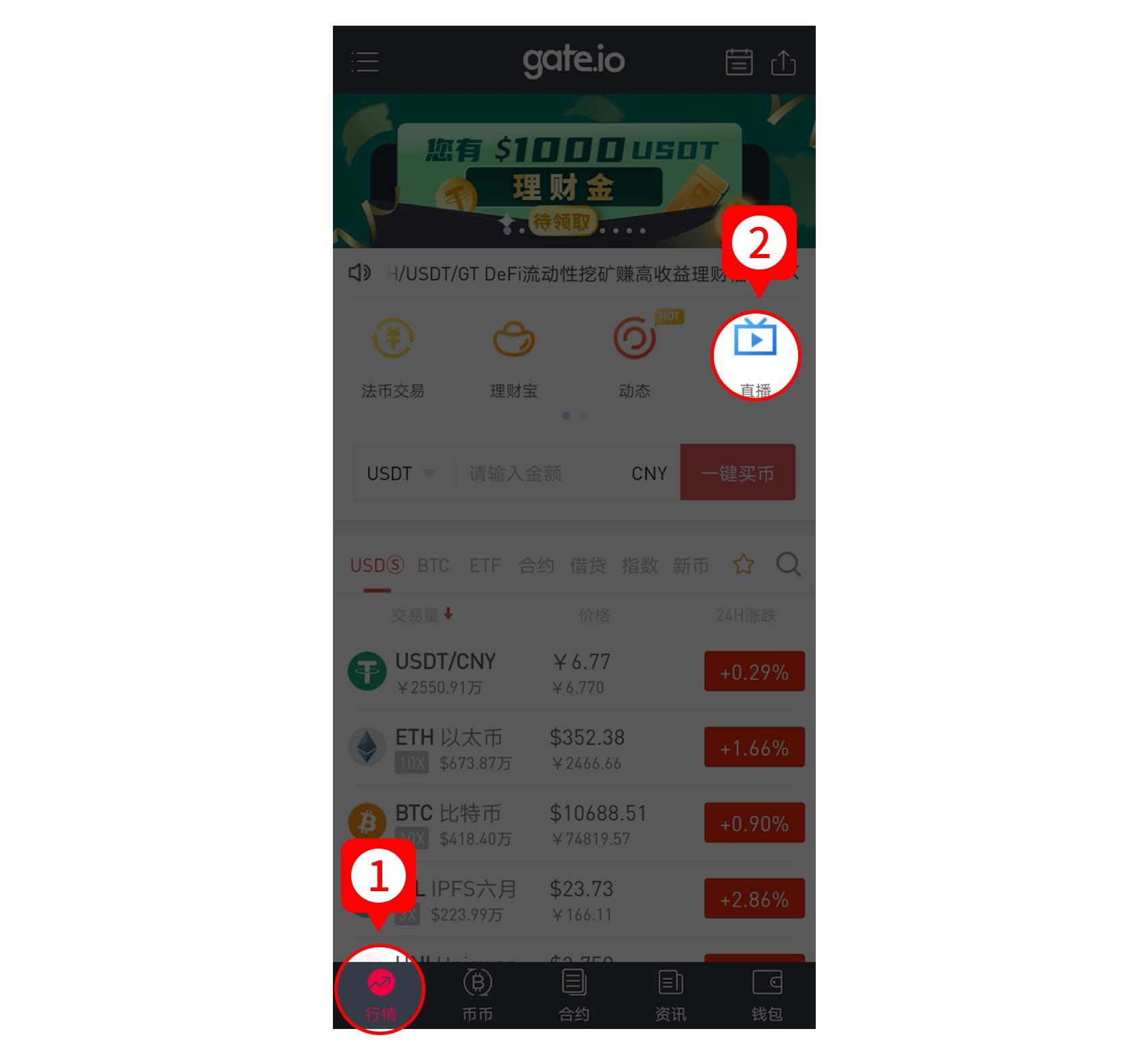 Gate.io比特儿交易所直播:匿名分析,趋势加操作等于盈利等节目即将开播插图
