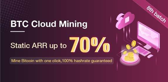 Gate.io the 8th batch of Cloud Mining Products will launch, Static ARR up to 70%