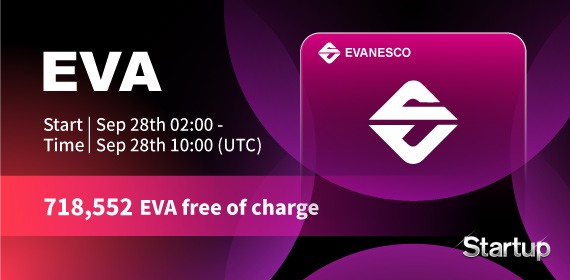 Gate.io Startup Free Offering: Evanesco_EVA_ and Announcement of Free Distribution Rules _718,552 EVA free of charge_