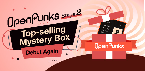 OpenPunks Mystery Box Continues to Trend with the Second Mystery Box Stage Set to Begin on October 22nd