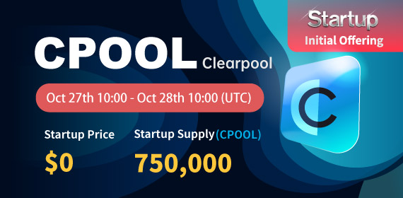 Gate.io Startup Free Offering: Clearpool_CPOOL_ and Announcement of Free Distribution Rules_750,000 CPOOL free of charge_