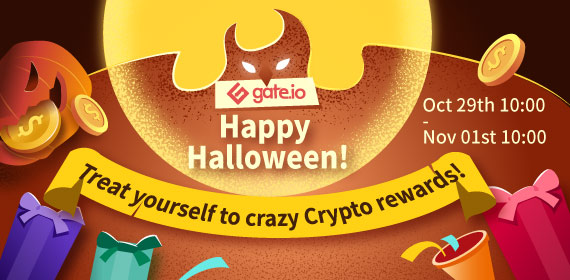 Gate.io Halloween Party! Share the Posts to Win Rewards!