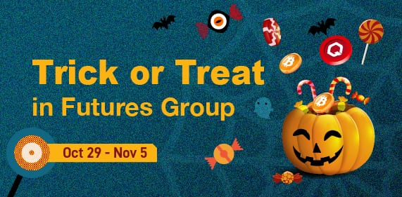 Gate.io Trick or Treat in Futures Group
