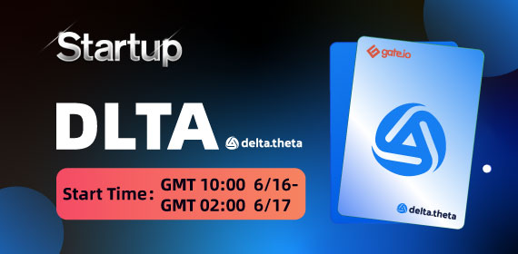 Gate.io Startup Initial Offering-DAO SHO Project- delta.theta (DLTA)