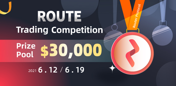 Gate.io Router Protocol (ROUTE) Trading Competition, Total Reward of $30K To Be Won