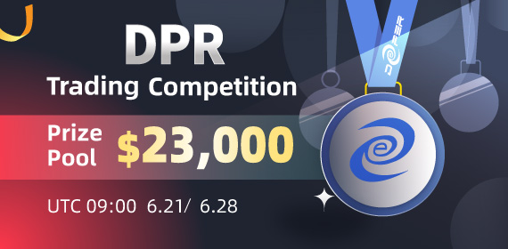 Gate.io Deeper Network(DPR) Trading Competition, Total Reward of $23K To Be Won