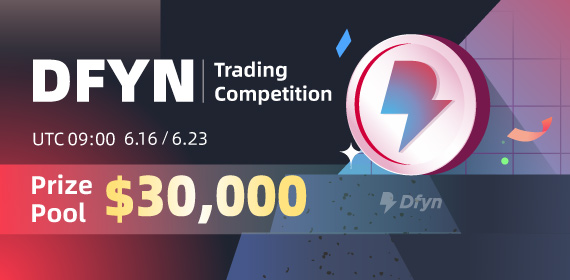 Gate.io Dfyn Network (DFYN) Trading Competition, Total Reward of $30K To Be Won